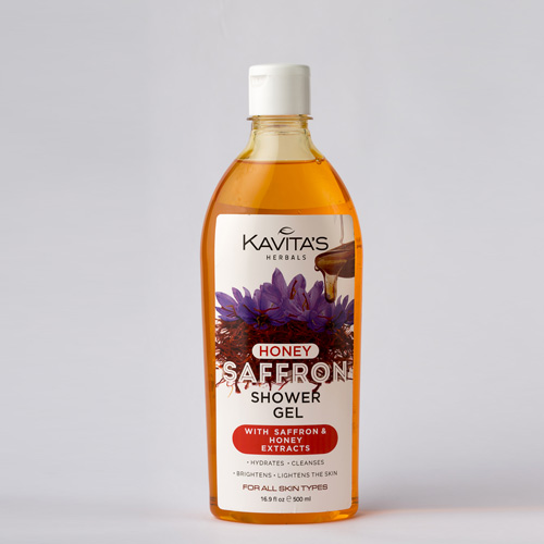 Saffron Shower Gel